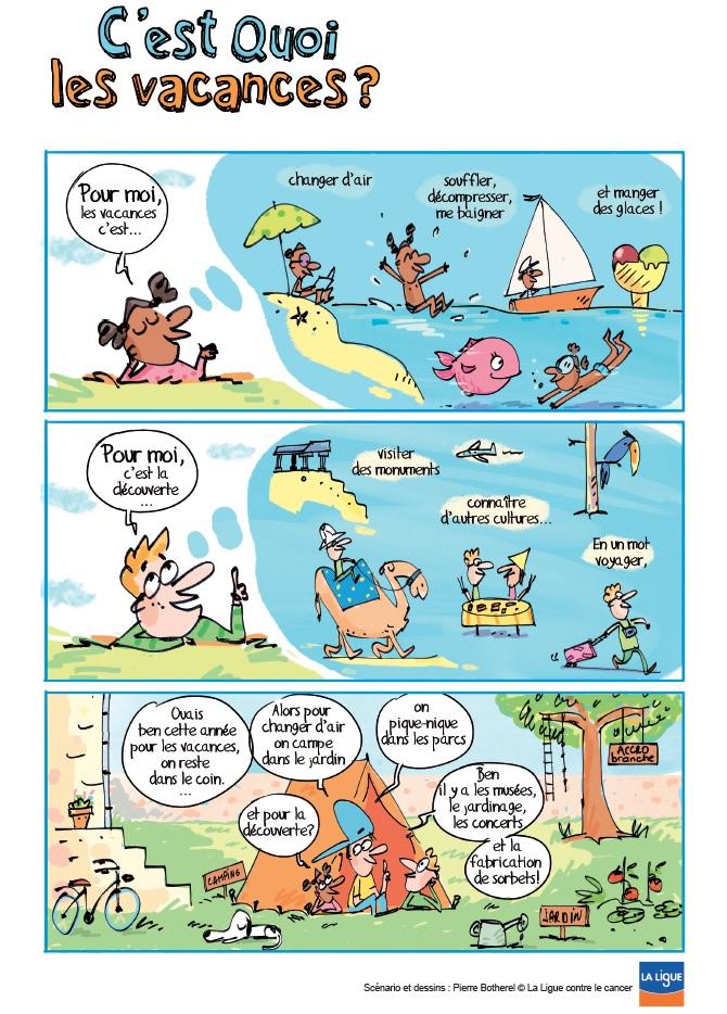 aa05940ee77314 C est quoi les vacances   - Bande-dessinée - Lig up (Communauté ...